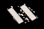 Акустомагнитные этикетки (одноконтурные) BA101W